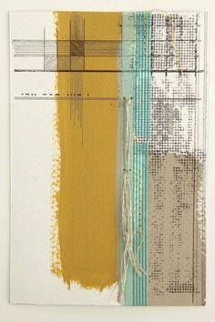 da9c666a51e Rachel T Robertson - morse code love 03 - mixed media Morse Code