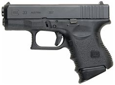 Glock 33 - Sub-compact pistol chambered for .357 SIG.