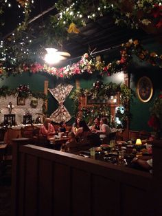 Photo of Patti's Settlement - Grand Rivers, KY, United States. Grandma went crazy with the silk flowers at Patti's Pattis Settlement, Patti's 1880's Settlement, Beautiful Dining Rooms, Silk Flowers, Christmas Tree, Table Decorations, Rivers, Holiday Decor, United States