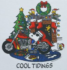 motorcycle joe cool snoopy - Google Search