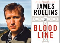"""Book Review of James Rollins' """"Bloodline"""" by Candace Salima on http://usdailyreview.com/book-review-bloodline-by-james-rollins"""