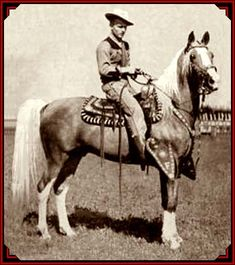 Ben Johnson(Sergeant Tyree) & his own GORGEOUS horse in ...