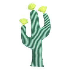 Meri Meri Green Cactus Cushion - Trouva