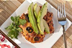 garden enchilada bake