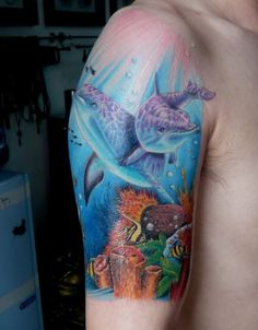 ocean life tattoo sleeve - Google Search
