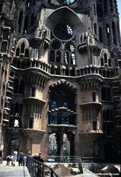 Antoni Gaudi. Possibly my favorite architect. Barcelona - some day...