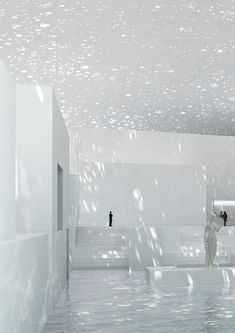 The light in this space is amazing! Jean Nouvel - Louvre Museum, Abi Dhabi, United Arab Emirates
