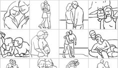 Posing Guide for Photographing Couples: Couple photography is about connection, interaction and feelings between two people. Here are some poses to help you capture that..
