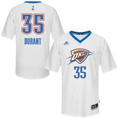 pretty nice 2e4d6 7258b Shop Kevin Durant Oklahoma City Thunder Pride Swingman White Jersey Online  black, grey, blue and more.