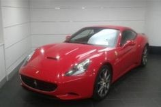 2012, Ferrari, Voiture, California, Casablanca