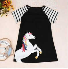 Puff Dress Summer Infant Bk Casual Sleeve Girls Kids Babies Checked Fly Plaid