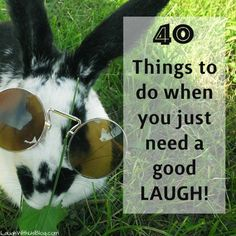 40 tried and true FAMILY FRIENDLY things to do when you just need a good laugh!
