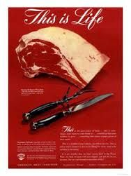 1950s meat poster - Google Search