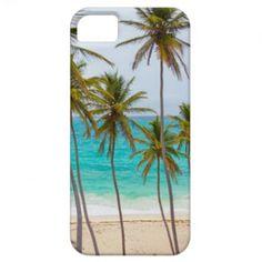 Tropical Beach Design IPod Case iPhone 5 Case