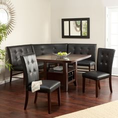 1000 Images About Corner Dining Tables On Pinterest