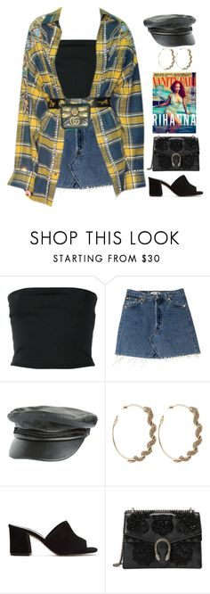 """""""Content"""" by lagenue ❤ liked on Polyvore featuring Balmain, Volcom, Roberto Cavalli, Vanity Fair, Maryam Nassir Zadeh and Gucci"""