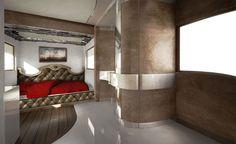 Un palazzo di #lusso viaggiante da milioni di dollari   #CaseDiLusso #Dubai #Camper