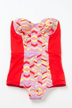 Isometric Maillot #anthropologie