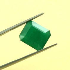 Natural Zambian Emerald 13 CRT Size Shape 15.2X13.1 MM, Octogon Shape Faceted Emerald Loose Gemstone, Best for Jewelry Making Gemstone Emerald Gem, Zambian Emerald, Natural Emerald, Stone Names, Etsy Earrings, 1 Piece, Loose Gemstones, Natural Stones