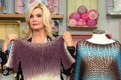 DERYA'NIN DÜNYASI ARŞİV - Kanalturk.com.tr Macig knitted shirt video tutorial