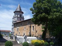 Lovely church at Ainhoa, France