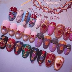 Beautiful Nail Designs To Finish Your Wardrobe – Your Beautiful Nails Dream Nails, Love Nails, How To Do Nails, Fun Nails, Beautiful Nail Designs, Cool Nail Designs, Easy Nail Art, Cool Nail Art, Gorgeous Nails