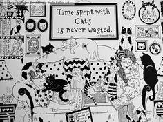 Tiempo gastado con los gatos es nunca perdido por HellsBellesArt