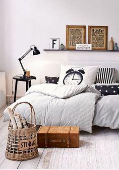 Leuk slaapkamer, vooral het wekker kussen vind ik erg leuk.