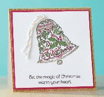 Welcome to our Stamp of the Month Blog Hop!  We will be featuring Octobers Stamp of the Month               Yuletide Joy, Set of 7 - $17.95...