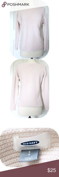 "Pale Pink Sweater ☓ :: NO TRADES :: ☓ ☓ :: I DON'T MODEL :: ☓            _________________________  ☞Item Details ↴  DETAILS COMING SOON🔜  Feel free to ask any questions below!             _________________________  Mannequin's Measurements:  Bust 34""  Waist 22""  Hip 34""  Height 29""  Cross Shoulder 14.5"" Old Navy Sweaters"