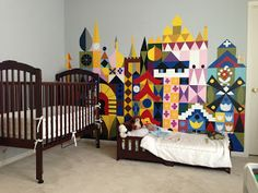 Merryweather's Cottage: It's A Small World Kids Room Disney DIY