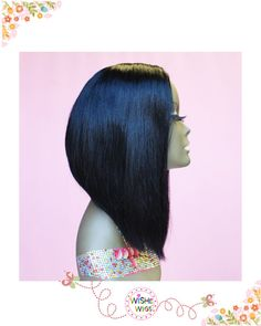 WiShe Pearl:100% Remy Human Hair Custom Made Wig with by WiSheWigs