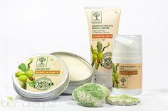 """Una delle linee più recenti Omnia Botanica è la gamma di prodotti al Karité, eletti """"Prodotto dell'Anno 2014"""" e 100% naturali."""