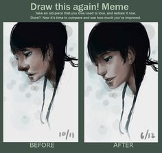 draw this again meme by green-sketch.deviantart.com