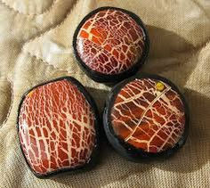 Image result for crackle polymer clay beads