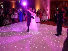 White LED sparkly twinkly dance floor White Lead, All White, Light Up Dance Floor, Dance Floor Rental, Led Dance, Dance Floors, Pretty Lights, Wedding Reception, Flooring