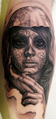 #tattoo #tattoos #ink #catrina