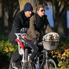 Gisele, Tom & Children & Pup