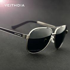 c6f7aaa2377 VEITHDIA New High Quality Men Polarized Sunglasses Male Brand Logo Design  Driving Sun Glasses Goggles Eyewears
