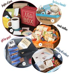 "the best monthly subscriptions to give as gifts! ""gift-scriptions: boxes of goodies delivered to your door!"""