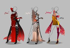 Outfit design - Planets 2 - closed by LotusLumino on DeviantArt