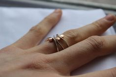 Hey, I found this really awesome Etsy listing at https://www.etsy.com/listing/85831958/stacking-silver-rings-set-of-3-elegant