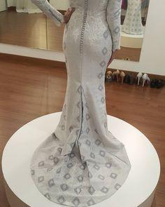 """Happy customer Happy Emma #emmawedding #tailormade #malaywedding #songket…"