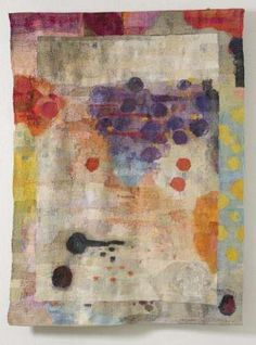 'Next to the Mirror' (2011) by Finnish artist and designer Inka Kivalo. Gobelin tapestry, 185 x 150 cm. via Finnish Designers