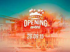 Activate Opening event- Sports Club 26 September 2015 @18 hrs  #openingevent #activatesports #eventcanaryislands Check in on the link to book your space