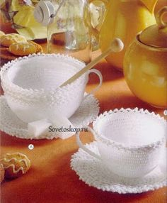 Marisabel crochet: Are not these cups original