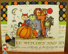 Ooooooo, the spooky fun is getting close! :) And today we have a great little image to help you and yours celebrate Halloween! Bugaboo, Bugs, Stamps, Challenge, Friday, Halloween, Cards, Beetles, Stamping