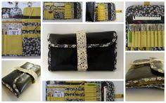 Le Tuto du Range-Aiguilles de Princesse Grenouille Crochet Storage, Needle Case, Diy Recycle, Sewing Kit, Textiles, Sewing Projects, Purses, Wallet, Knitting