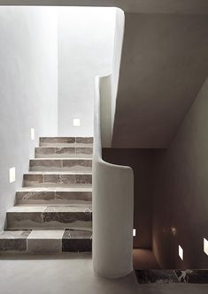 Ramon Llull 3 - Complete refurbishment of a town house in Deia Mallorca by More . - house and flat decorations Minimalist Architecture, Interior Architecture, Interior Design, Architecture Board, Basement Remodel Diy, Basement Remodeling, Basement Decorating, Closet Remodel, Decorating Ideas