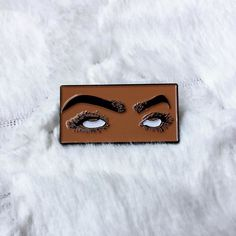 """Repost ・・・ Our most popular pin today sales wise! Cmon sis, what you know about being an """"Eye Roll Kween""""? Charles Xavier, Jacket Pins, Young Avengers, Eye Roll, Cool Pins, Pin And Patches, Leo Valdez, Pin Badges, Popular Pins"""